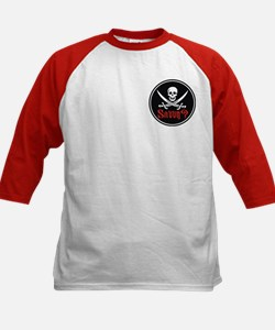 Savvy? Pirate Flag Kids Baseball Jersey