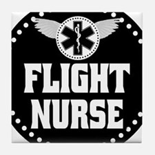 Flight Nurse Tile Coaster