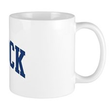 BRADDOCK design (blue) Mug