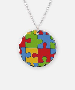 autism awareness month Necklace