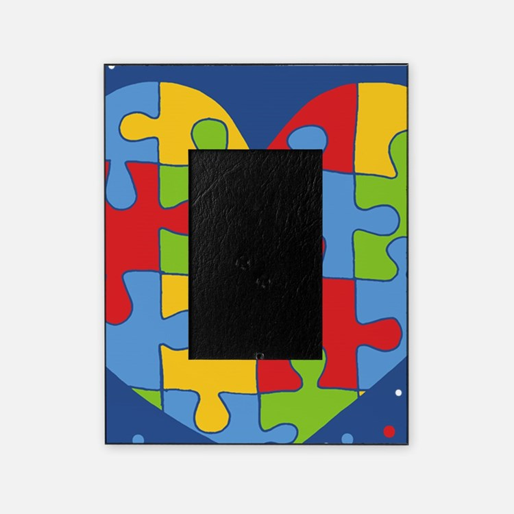 autism awareness month Picture Frame