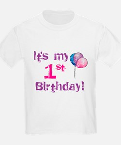 It's My 1st Birthday T-Shirt