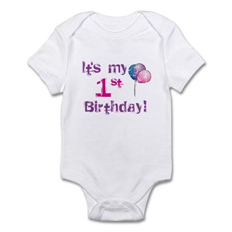 It's My 1st Birthday Infant Bodysuit