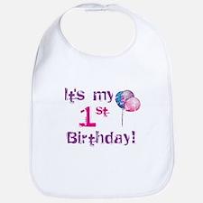 It's My 1st Birthday Bib