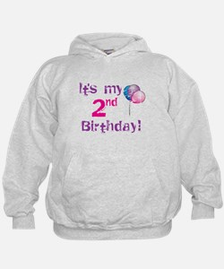 It's My 2nd Birthday Hoodie