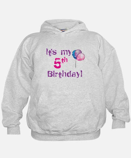It's My 5th Birthday Hoodie