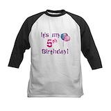 Its my 5th birthday Baseball Jersey