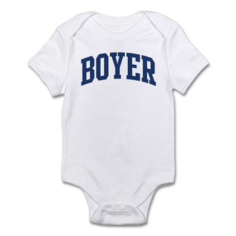 BOYER design (blue) Infant Bodysuit