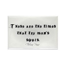Thomas Paine Quote Rectangle Magnet