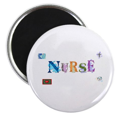 "Nurse 2.25"" Magnet (10 pack)"