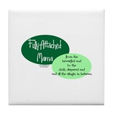 Fully Attached Mama Tile Coaster
