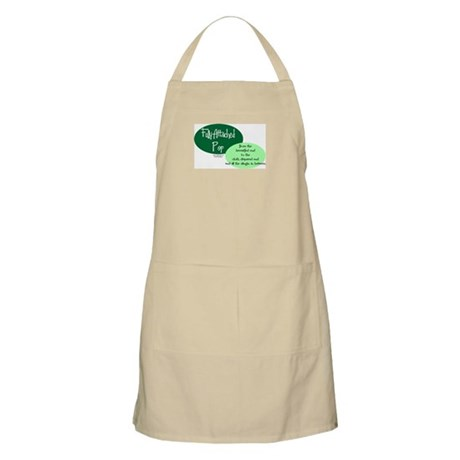 Fully Attached Pop BBQ Apron