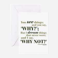 Shaw Quote No. 3 Greeting Cards (Pk of 20)