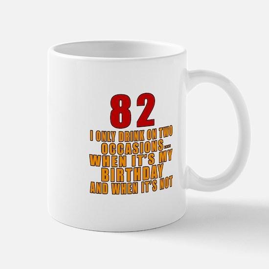 82 Birthday Designs Mug