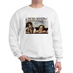 Raphael Christmas Sweatshirt