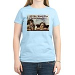 Raphael Christmas Women's Light T-Shirt