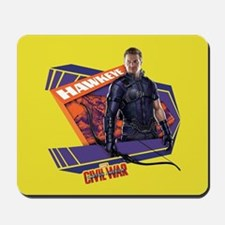 Hawkeye Purple - Captain America: Civil Mousepad