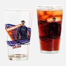 Hawkeye Purple - Captain America: C Drinking Glass