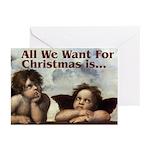 Raphael Christmas Greeting Cards (Pk of 20)
