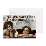 Raphael Christmas Greeting Cards (Pk of 10)