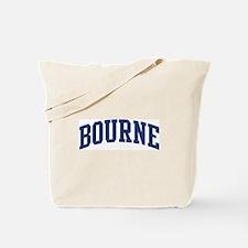 BOURNE design (blue) Tote Bag