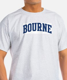 BOURNE design (blue) T-Shirt