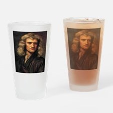 Isaac Newton Drinking Glass