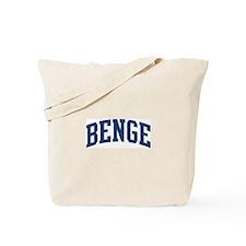 BENGE design (blue) Tote Bag