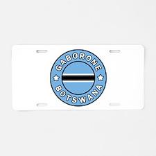 Gaborone Botswana Aluminum License Plate