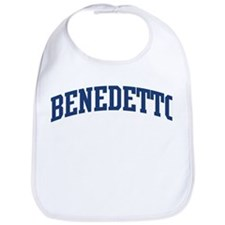 BENEDETTO design (blue) Bib