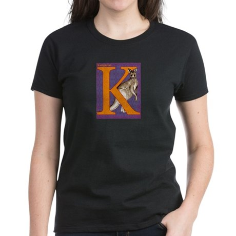 Kangaroo Women's Dark T-Shirt