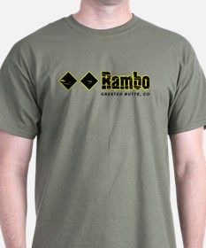 Ski Crested Butte, Rambo T-Shirt