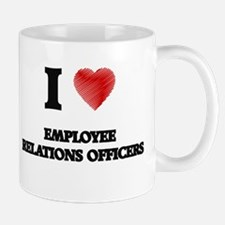 I love Employee Relations Officers Mugs