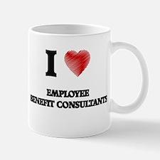 I love Employee Benefit Consultants Mugs