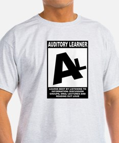 Wht_Auditory_Learner_png T-Shirt