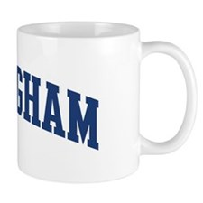 BIRMINGHAM design (blue) Small Mug