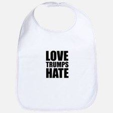 Love Trumps Hate Bib