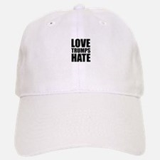 Love Trumps Hate Baseball Baseball Cap