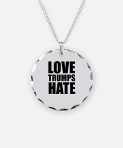 Love Trumps Hate Necklace