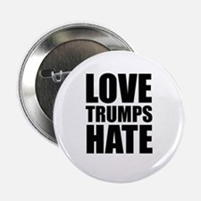"""Love Trumps Hate 2.25"""" Button (10 pack)"""