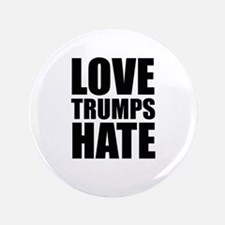 "Love Trumps Hate 3.5"" Button (100 pack)"