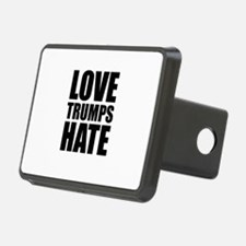 Love Trumps Hate Hitch Cover