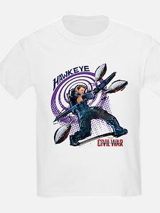 Hawkeye Bullseye - Captain Amer T-Shirt