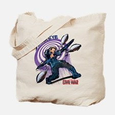 Hawkeye Bullseye - Captain America: Civil Tote Bag