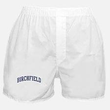BIRCHFIELD design (blue) Boxer Shorts