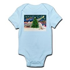 Xmas Magic & Kuvasz Infant Bodysuit
