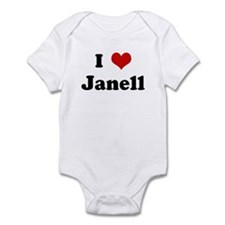 I Love Janell Onesie