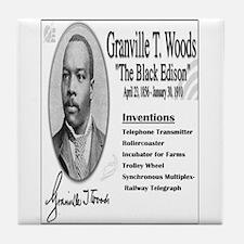 Granville T Woods Tile Coaster