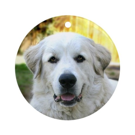 Great Pyrenees Ornament (Round)