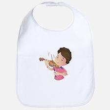 Violin Kid Bib